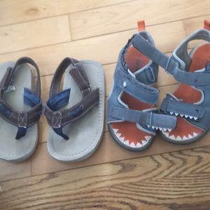 Baby boys Summer sandals 9 size both